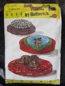 New Butterick 996 Pet Accessories Bed & Bed Cover Sewing Pattern