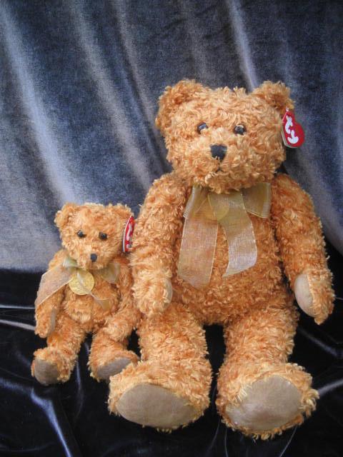 Ty Teddy Roosevelt  Teddybearsary 100th Year Anniversary Bear Beanie Classic  & Beanie Baby