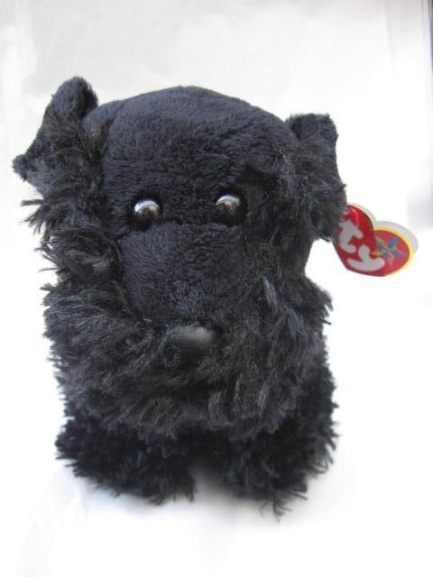 Ty Aberdeen Black Scottie Dog Beanie Buddy Plush