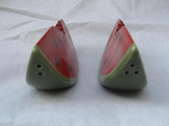 Slice Of Watermelon Salt & Pepper Shakers
