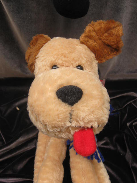 Large Brown & Tan Puppy Dog Crazy Legs Plush