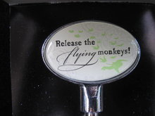 Hallmark Halloween The Wizard Of Oz Wine Opener Release The  Flying Monkeys