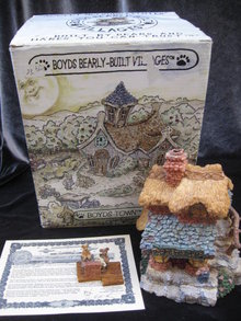 Boyds Villages Ted E. Bear Shop 1st in Boyds Bearly Built Villages Series