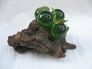 Vintage Cluster Of Green Acrylic or Lucite Grapes - Grape Cluster.