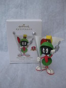 Hallmark 2011 Marvin The Martian Looney Tunes Christmas  Tree Ornament