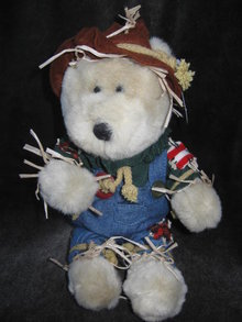 Starbucks 16th Edition Bearista Bear Halloween Scarecrow