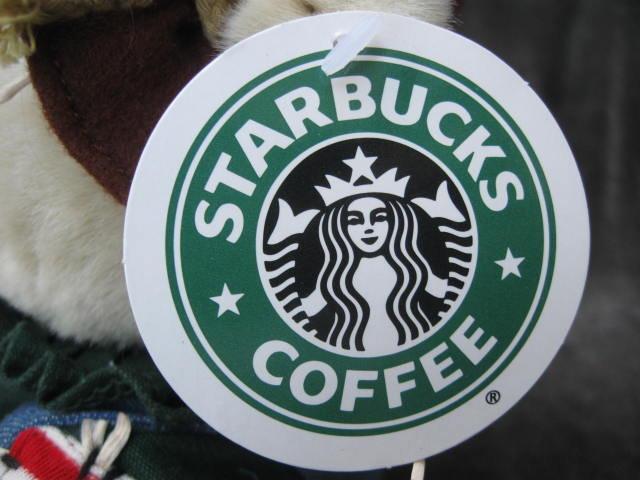 Starbucks 16th Edition Bearista Bear Halloween Scarecrow