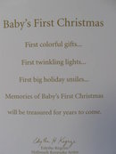 Hallmark 2011 Baby's First Christmas Baby Carriage Christmas Tree Ornament