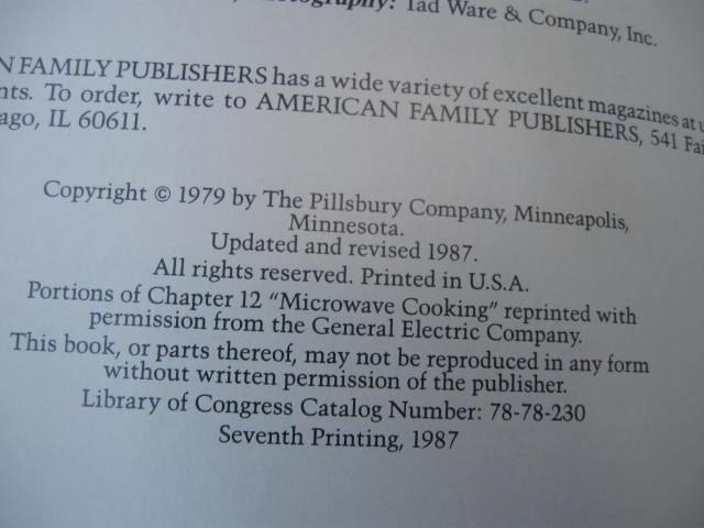 Pillsbury Kitchens' Family Cookbook