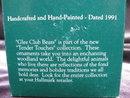 Hallmark 1991 Glee Club Bears Christmas Tree Ornament