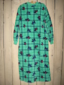 High Sierra Scottie Dog Ladies Bathrobe Size Small