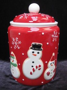 Hallmark 2011 Exclusive Snowman Cookie Jar