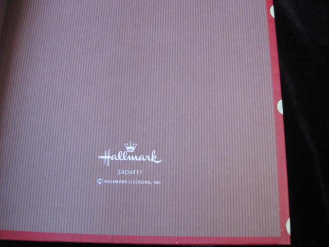 Hallmark Red VIP Journal