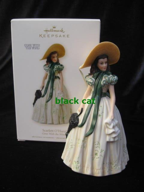 Hallmark 2008 Scarlett Gone With The Wind GWTW Picnic Dress Christmas Tree Ornament