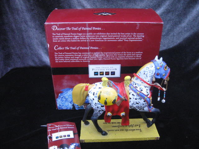 Runs The Bitterroot Retired Trail Painted Ponies 1E/0386