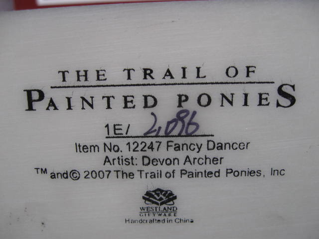 Retired Fancy Dancer Trail Of Painted Ponies Horse Figurine 1E/2096
