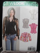 New Simplicity New Look 6621 Misses' Summer Tops Sewing Pattern Size 6 - 16