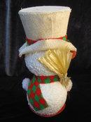 Vintage Japan  Styrofoam Snowman
