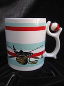 Fishing  Coffee Mug With Bobber