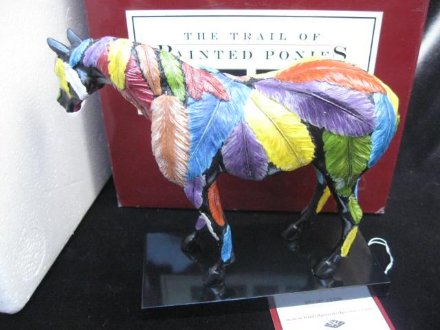 Trail of Painted Ponies  Horsefeathers Horse Figurine 1E/3421  First 1st Edition