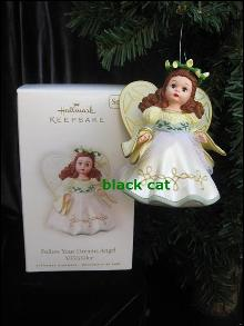 Hallmark 2008 Follow Your Dreams Madame Alexander Angel 13th In Series Christmas Tree Ornament