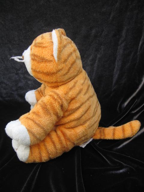 Ty Purrz The Tiger Kitty  Cat Pluffies Pluffie