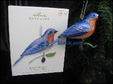 Hallmark 2010  Eastern Bluebird 6th In Beauty Of  Birds Series