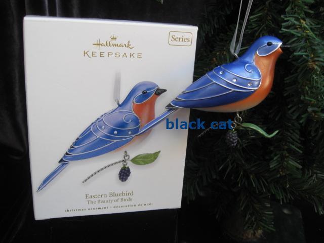 Hallmark 2010  Eastern Bluebird 6th In Beauty Of  Birds Series