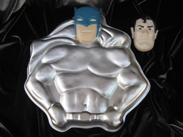 Wilton Superman & Batman Cake Pan