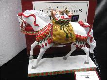 Polar Express Retired Trail Of Painted Ponies Figurine 1E 6898