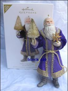 Hallmark 2012 Father Christmas   Special Limited Quantity Edition  Ornament In Father Christmas  Series