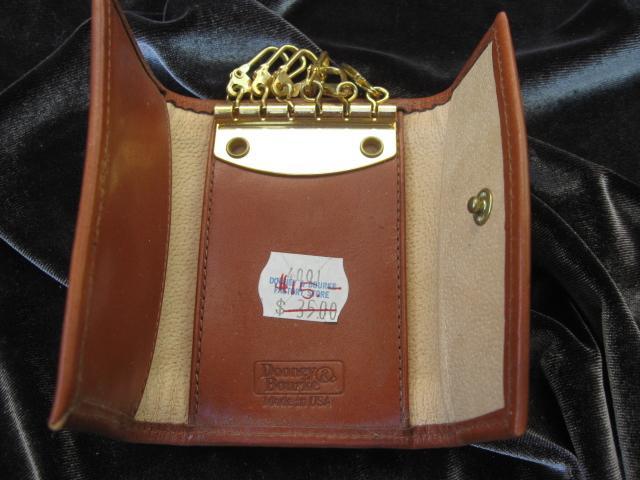 Vintage Dooney & Bourke Keychain Key Holder