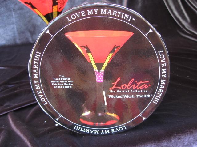 New Lolita Love My Martini WICKED WITCH THE 4TH  Martini  Glass
