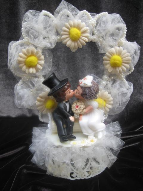 Vintage Wedding Cake Topper Copyright 1959