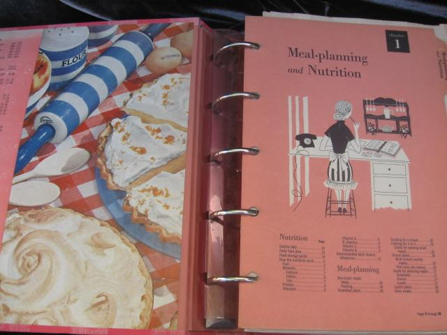 Vintage Better Homes and Gardens New Cookbook  1950's