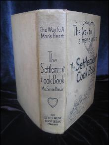 Vintage 1943 The Settlement Cook Book