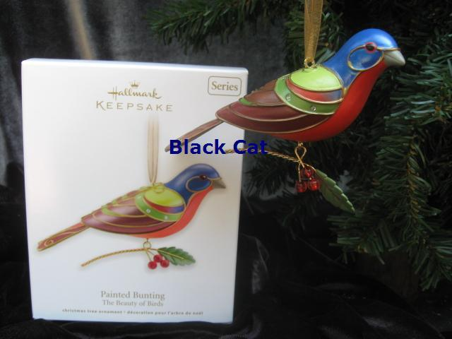 Hallmark 2012  Painted Bunting 8th In Beauty Of Birds Series