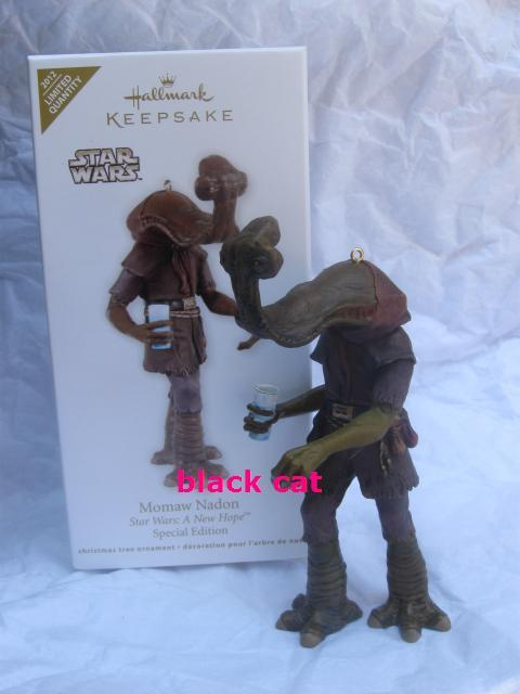 Hallmark 2012 Star Wars Momaw Nadon Special Edition Limited Quantity  Christmas Tree Ornament