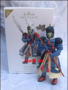 Hallmark 2012  Winkie Guard Wizard Of Oz WOZ  Special Edition Limited Quantity  Christmas Tree Ornament