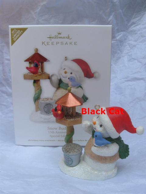 Hallmark 2012 Snow Buddies 15th Anniversary Limited Quantity Christmas Tree Ornament