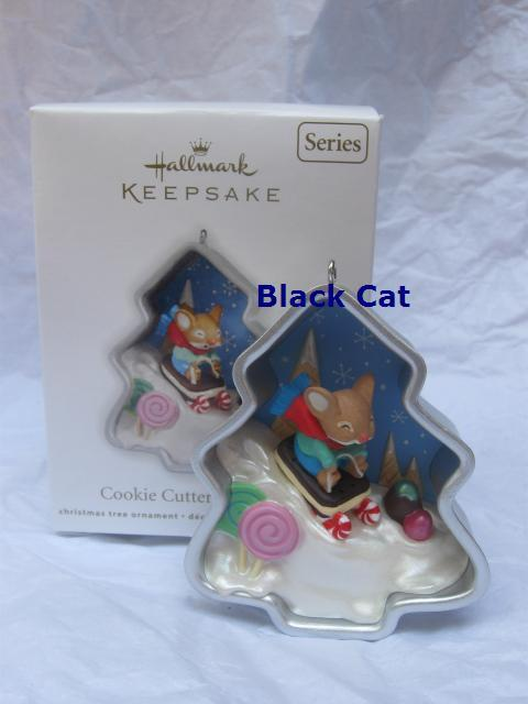 Hallmark 2012 Cookie Cutter Christmas Mouse Ornament 1st In Series