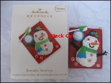 Hallmark 2012 Season's Treatings Baking  4th In Series Christmas Tree Ornament