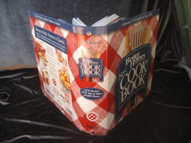 Better Homes & Gardens New Cook Book Copyright 2002