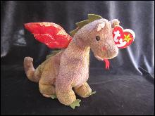 Ty Scorch The Dragon Retired Beanie Baby