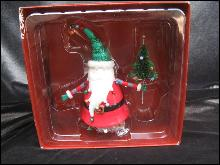 Department 56 Santa Claus Bell Christmas Tree Ornament