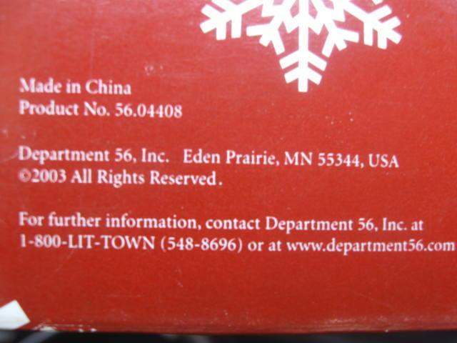 Department 56 Santa Claus Bell Christmas Tree Ornament