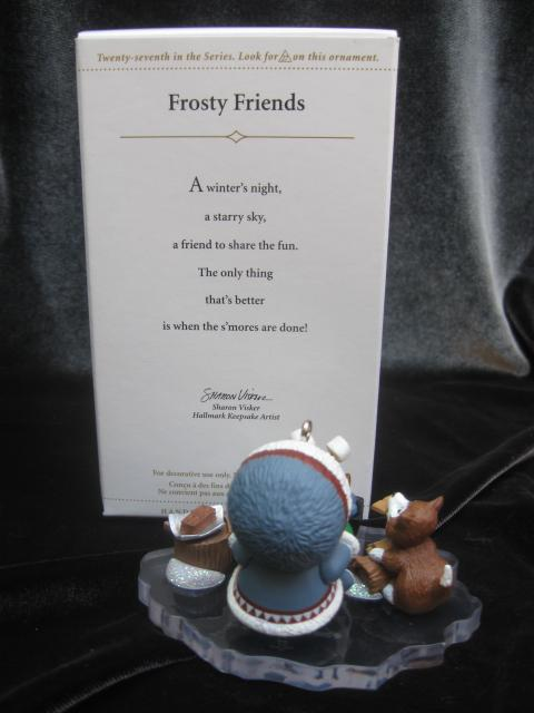 Hallmark 2006 Smores FROSTY FRIENDS Making Smores 27th In Series Christmas Tree Ornament