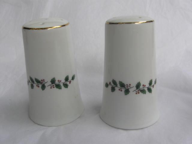 Vintage Christmas Tree Salt & Pepper Shakers