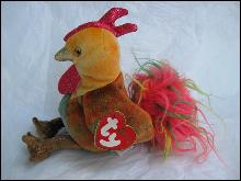 Ty Chinese Zodiac Rooster Beanie Baby