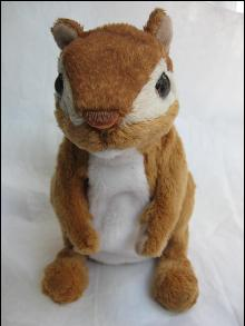 Fur Real Furreal Interactive  Chipmunk